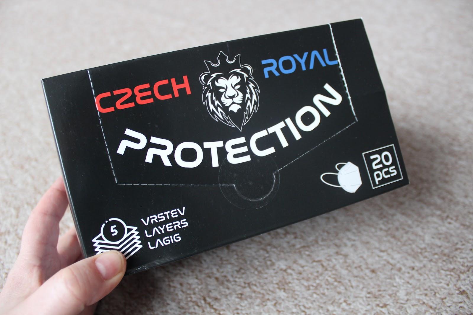 Recenze Lékárna Matěj: Respirátory FFP2 od Czech Royal Protection