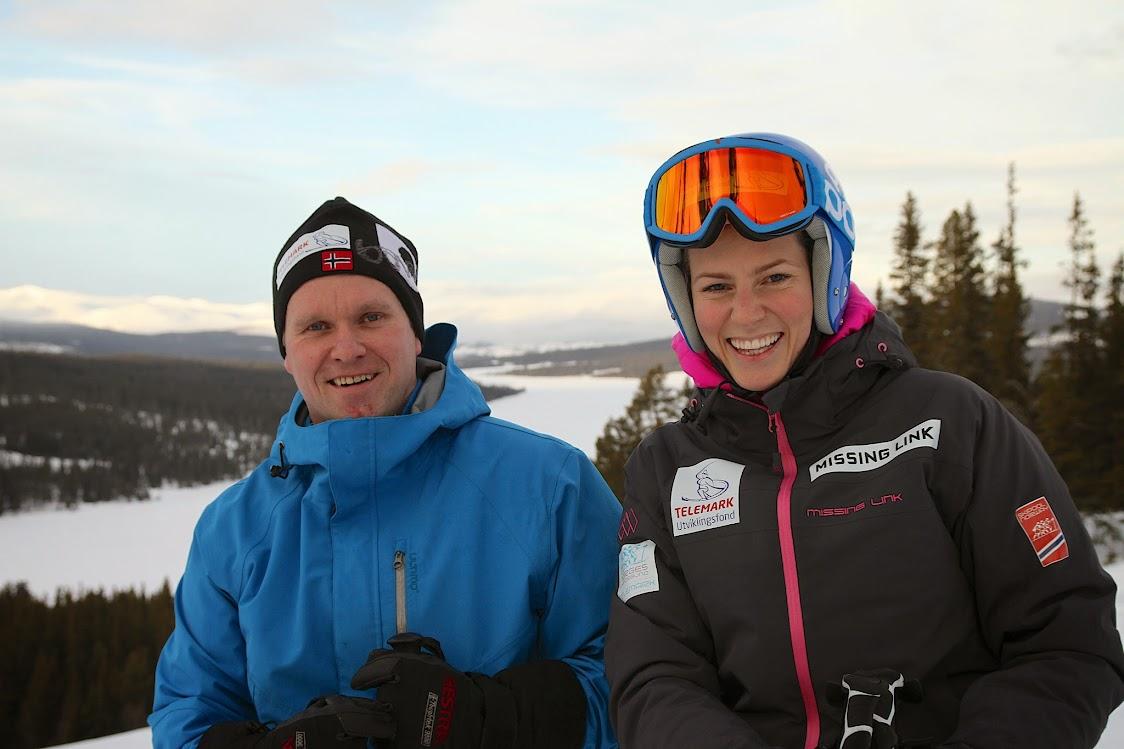Bakkesjef Flemming Rasmussen og rennleder Sigrid Rykhus er klare for Norgescup på Gålå