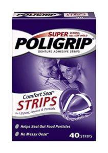 Super Poligrip Comfort Seal Denture Adhesive Strips