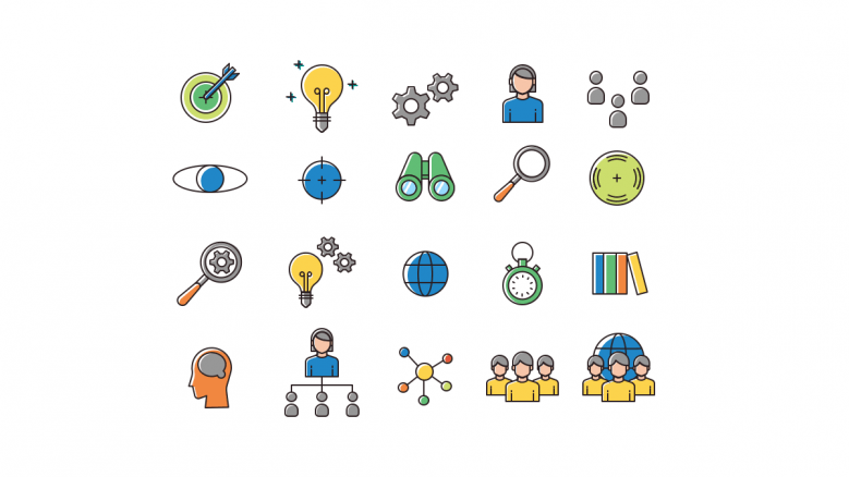 distance learning powerpoint resources icons
