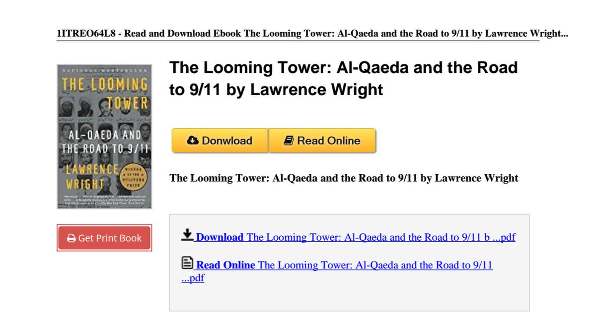 The looming tower al qaeda lawrence b004hzckzmpdf google drive fandeluxe Images