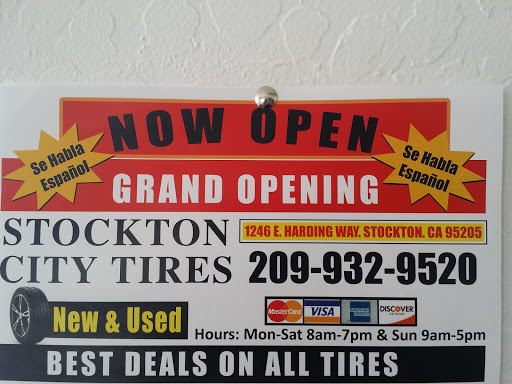 Stockton City Tires New Used Tires Best Prices Guaranteed Your