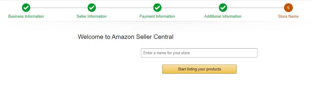 Namnge din Amazonbutik