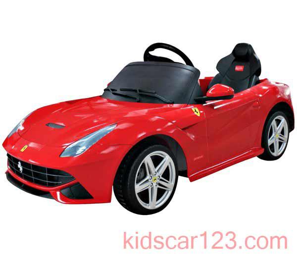 siêu oto điện Ferrari F12 81900 màu đỏ 01