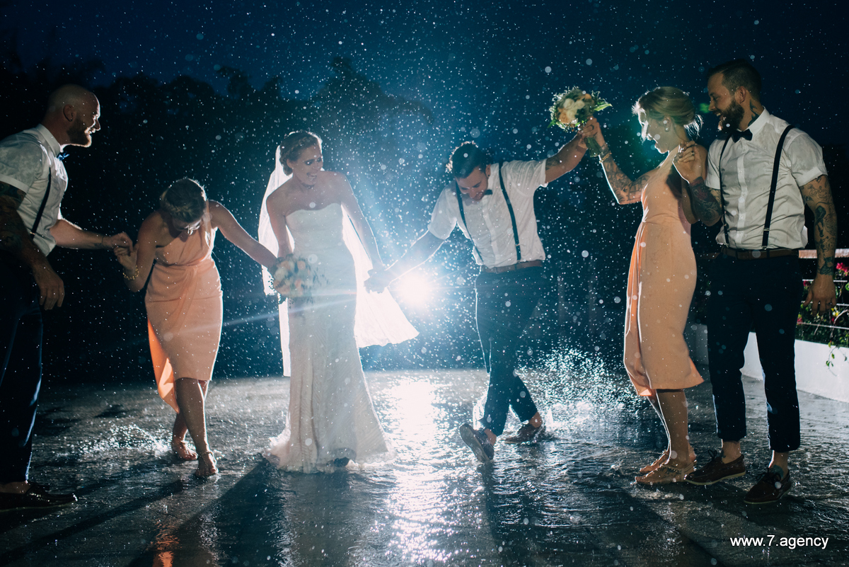 Wedding in Bali During Rainy Season