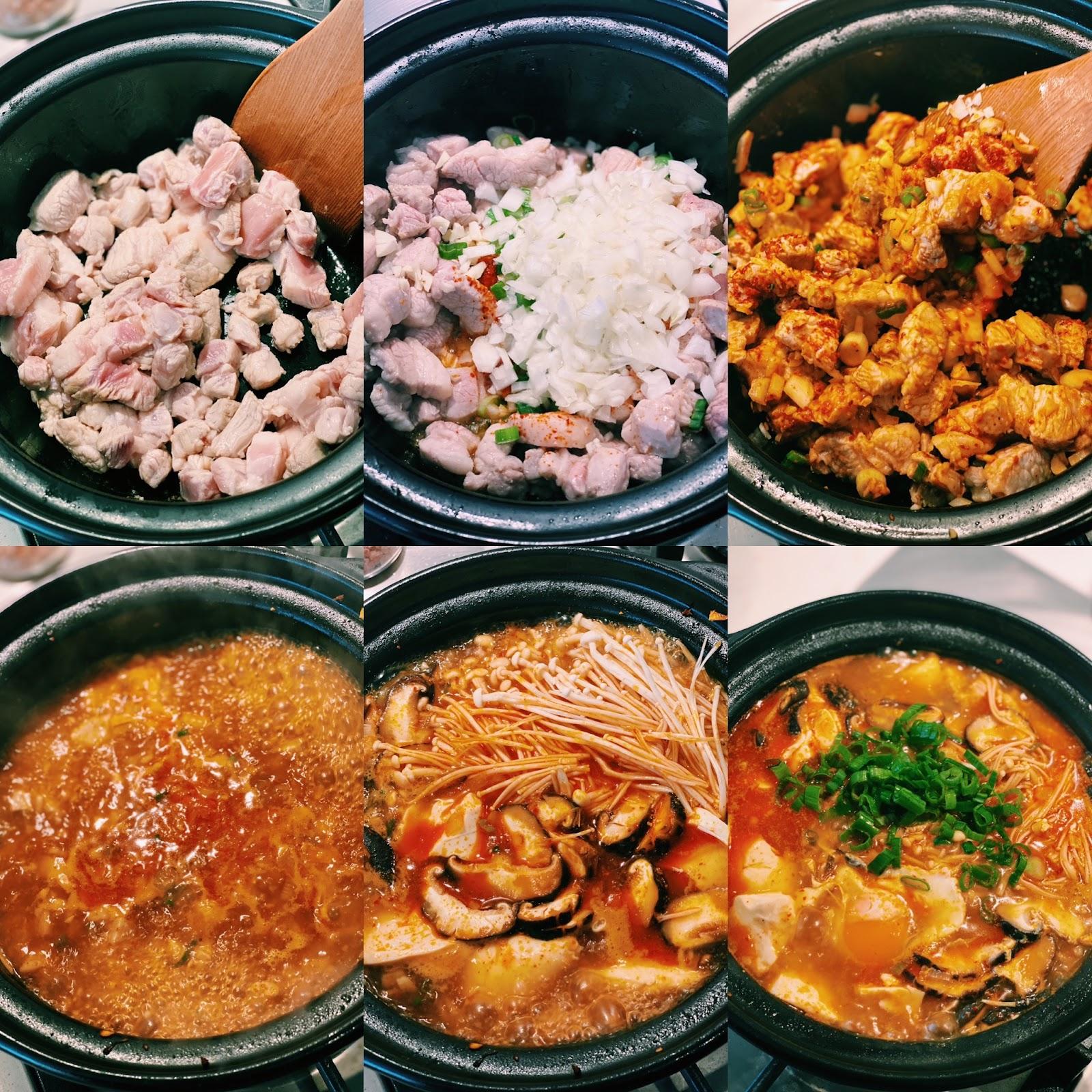 How to make korean tofu stew