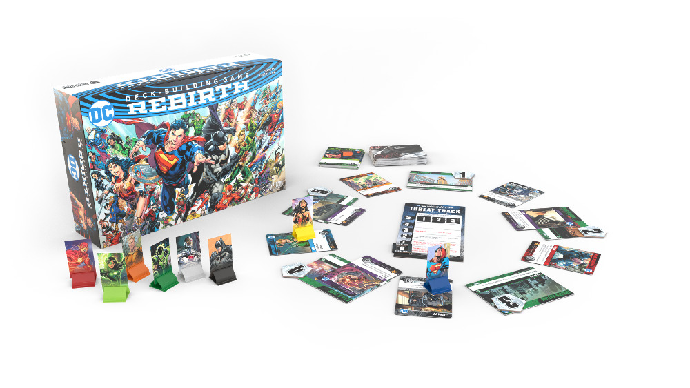 DC Deck-Building Game Rebirth