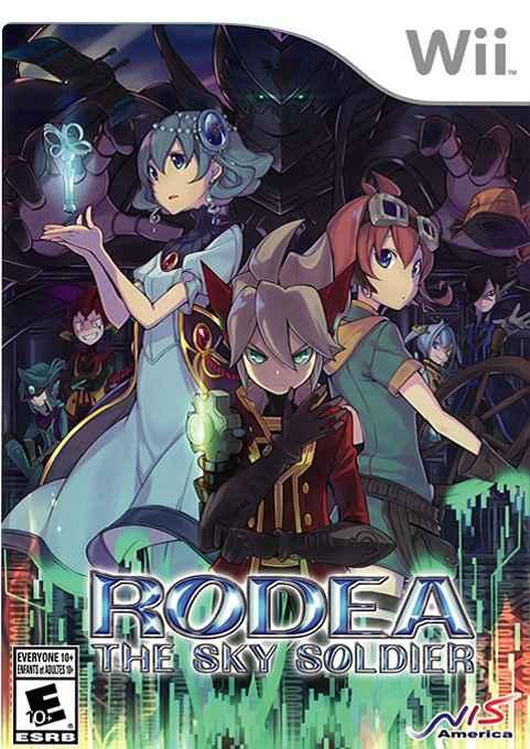 Image result for rodea the sky soldier wii