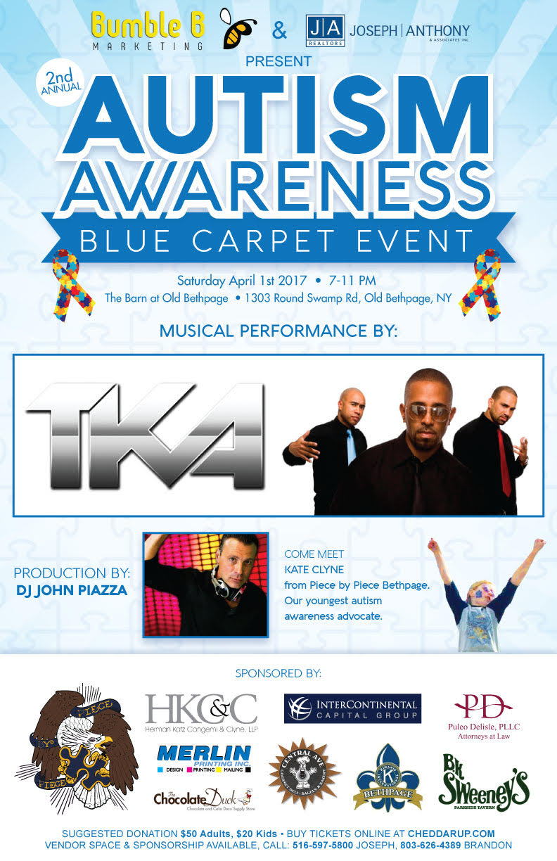 Second Annual Autism Awareness Blue Carpet Event at The Barn