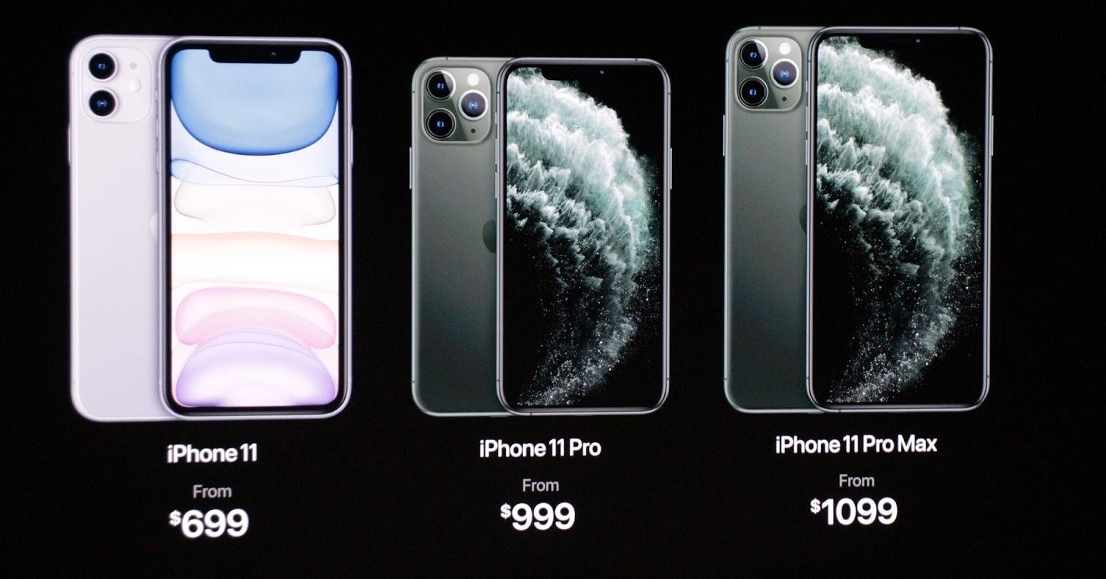 Sforum - Trang thông tin công nghệ mới nhất iPhone-11-Pro-va-iPhone-11-Pro-Max-ra-mat-face Bộ ba iPhone 11 ra mắt: Tên gọi/màu sắc mới, camera vuông, kèm sạc nhanh, giá từ 699 USD