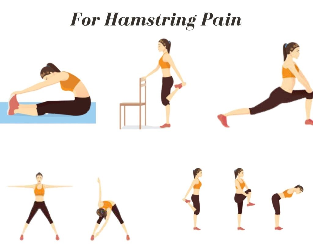 For hamstring pain