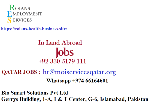 RES (R0IANS EMPLOYMENT SERVICES ) - Government Jobs in Ministry of