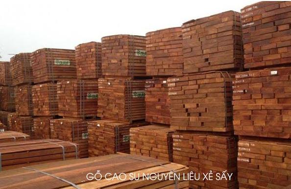 Tìm hiểu quy trình của gỗ cao su tẩm sấy