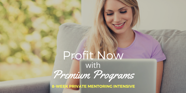 (Program information can be found at http://www.ChristineParma.com/profit-now-with-premium-programs)