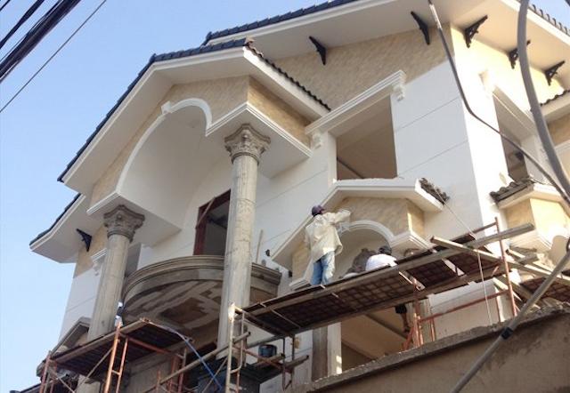 Bảng báo giá sửa chữa nhà phụ thuộc vào quy mô công trình