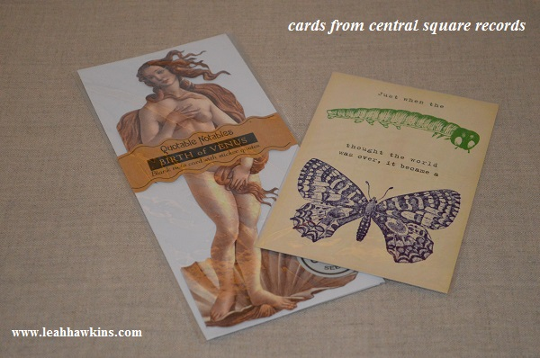 cards from central square records