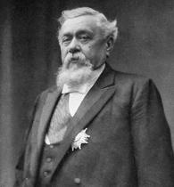 Personnalité de l'Albret : photo d'Armand Fallières, président de la IIIe République, en 1906