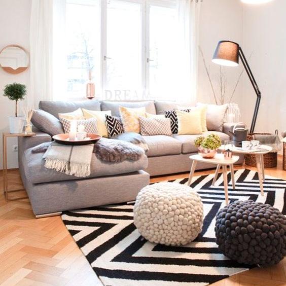 Ý tưởng sắp xếp nội thất cho phòng khách nhỏ