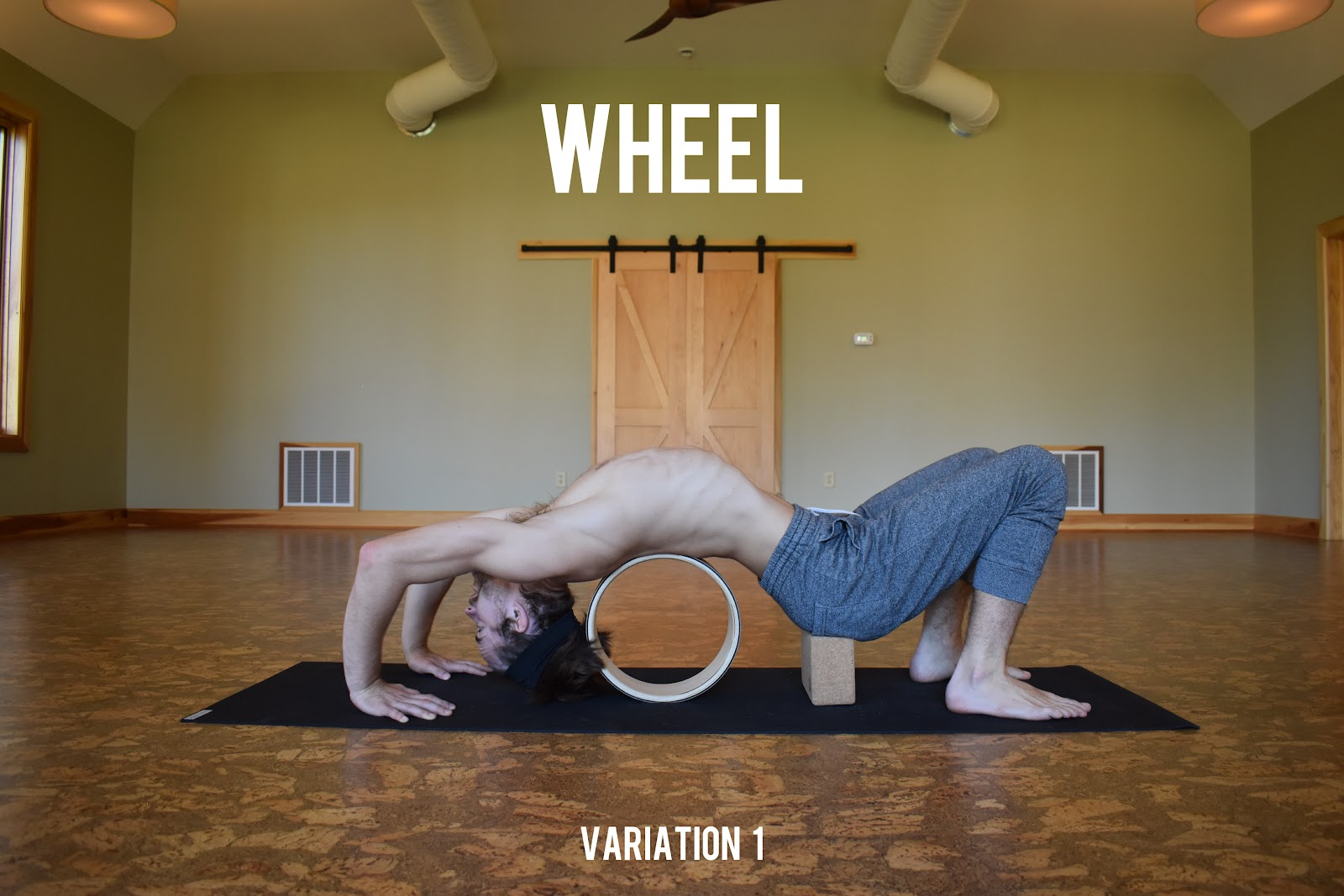 yoloha cork yoga wheel