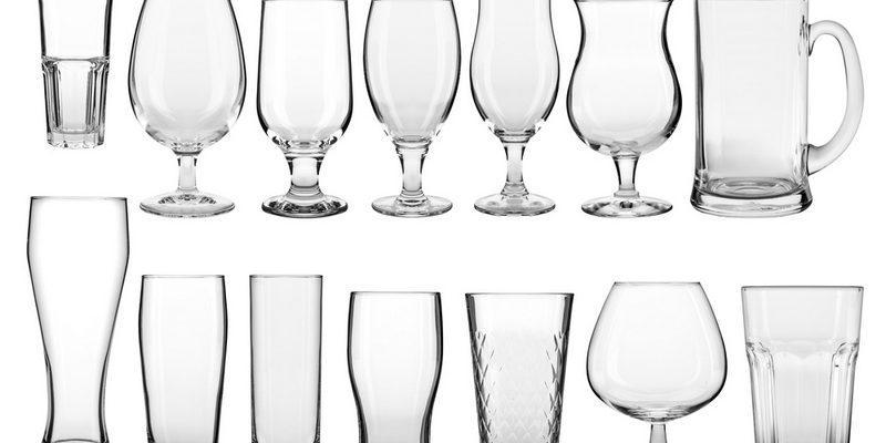 Các loại ly thủy tinh được sử dụng phổ biến trong cuộc sống