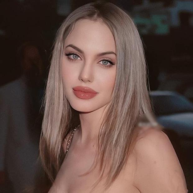 Bộ ảnh gây bão của Angelina Jolie hóa ra chỉ là giả - ảnh 2
