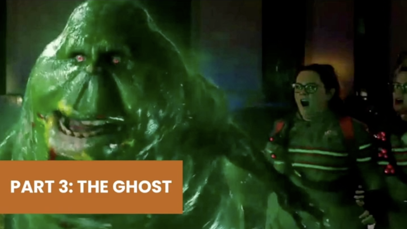 'The ghost' is a term used to refer to the status quo, often considered to be the worst type of competitor.