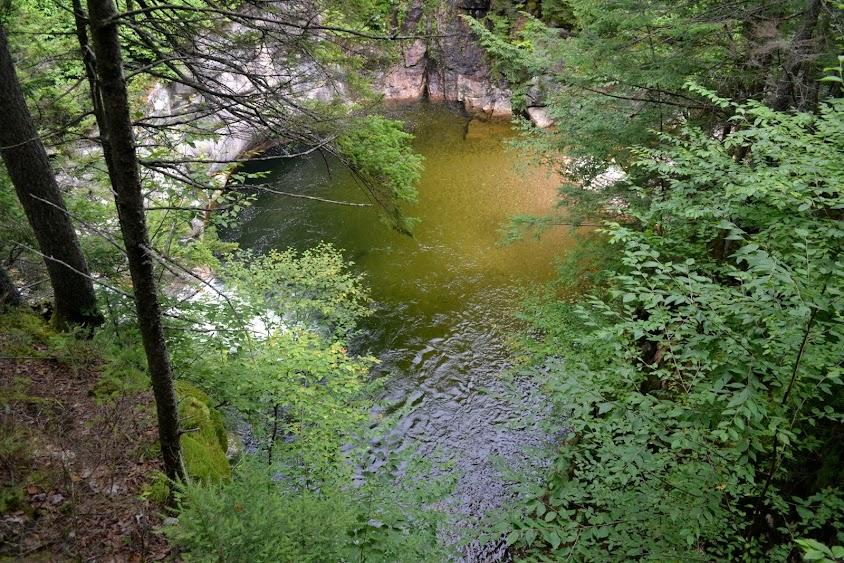 Ущелье Флюм, Нью-Гэмпшир (Flume Gorge, NH)
