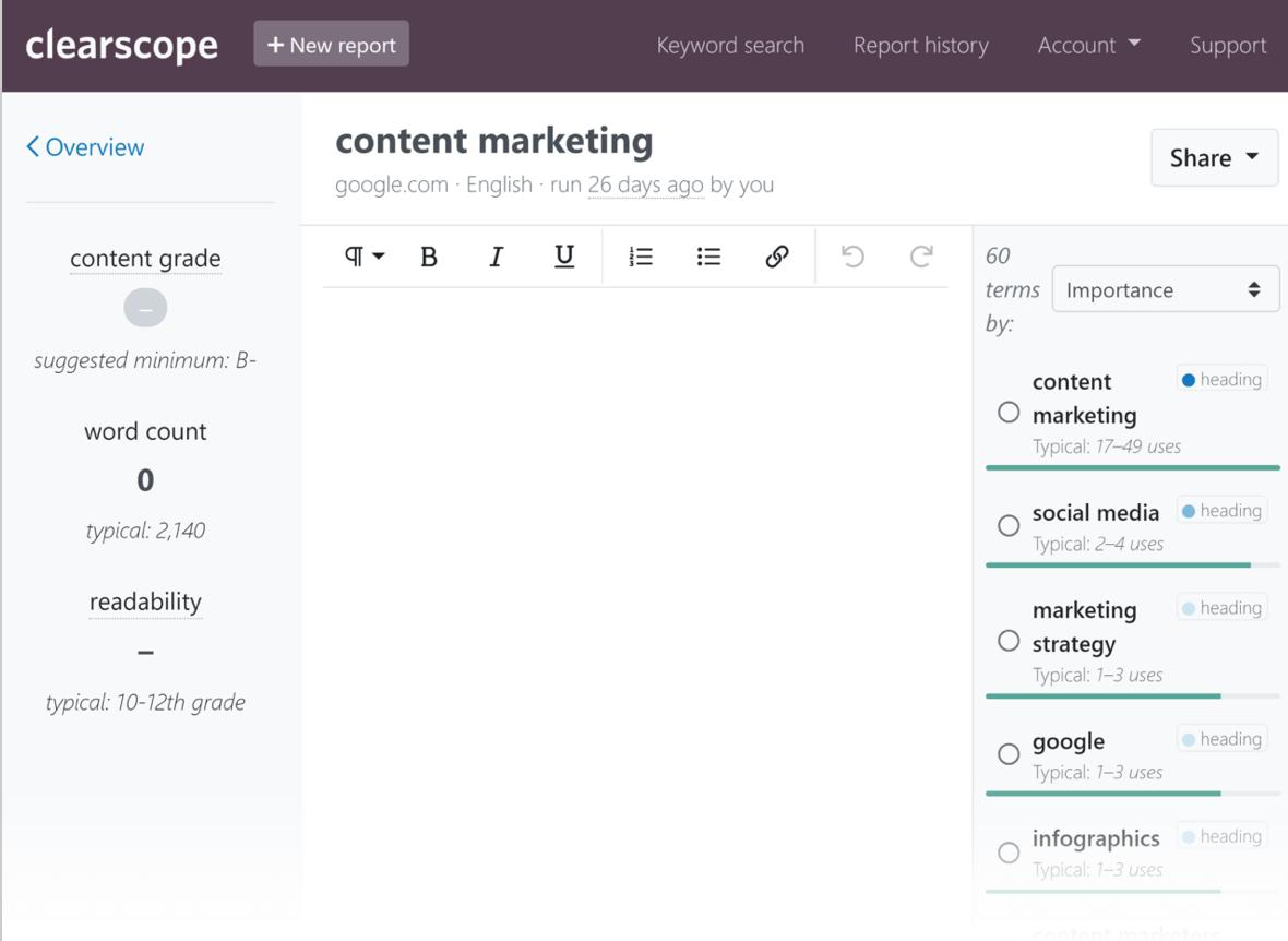 omniscient digital best content marketing tools clearscope