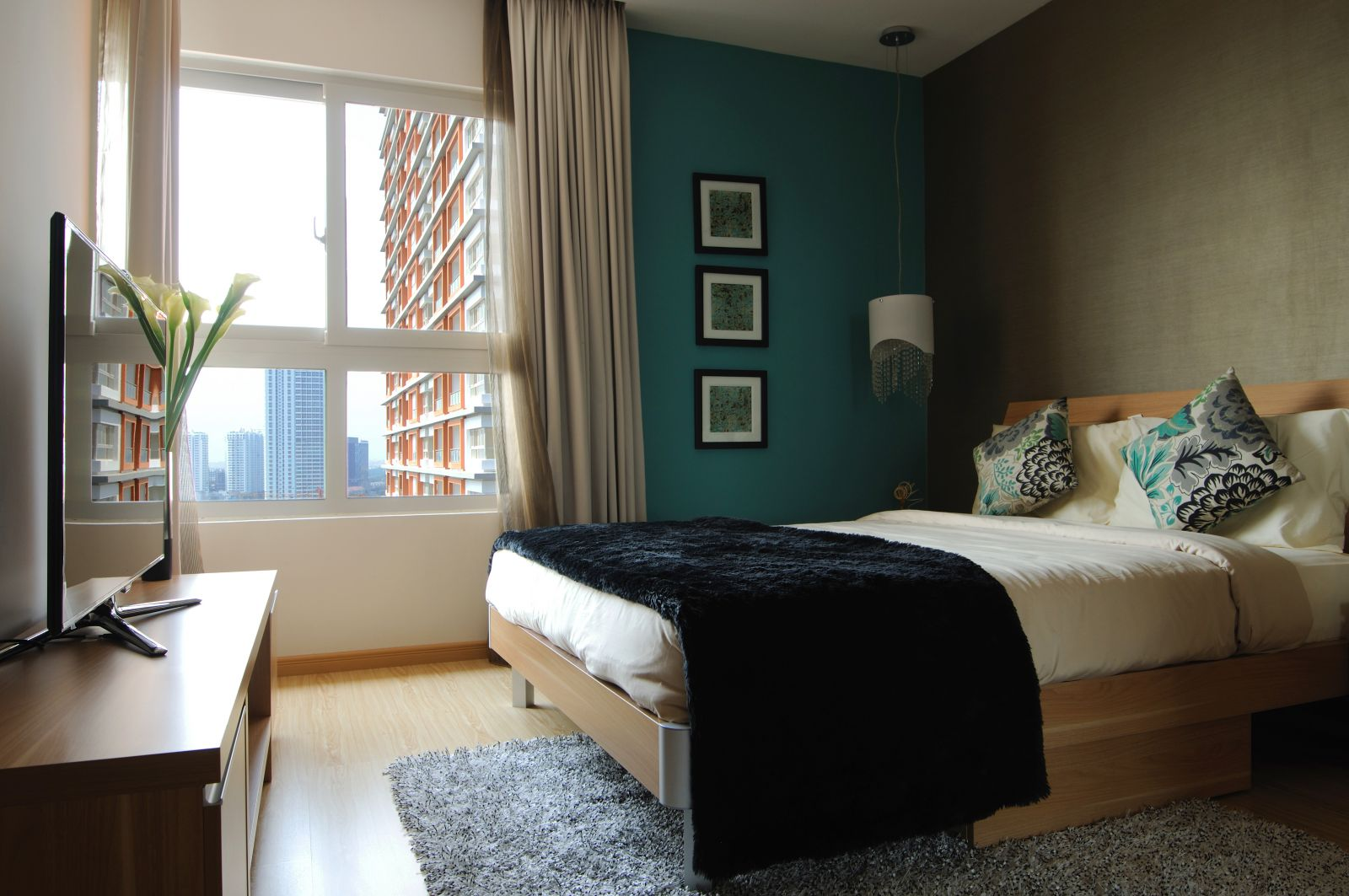 Giường ngủ theo màu sắc và phong thủy của mỗi người 1