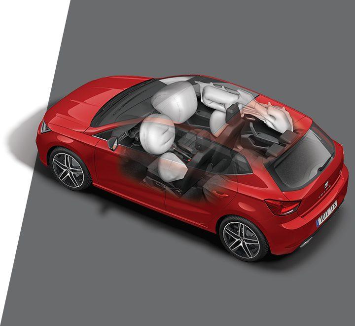 SEAT Ibiza 2019 airbags