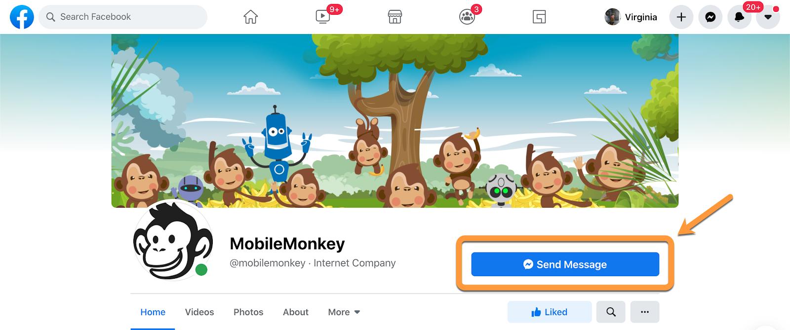mobilemonkey chatbot example