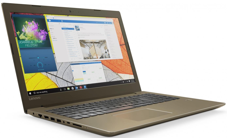Фото 2 - Ноутбук Lenovo IdeaPad 520-15IKB Golden (81BF00EJRA)