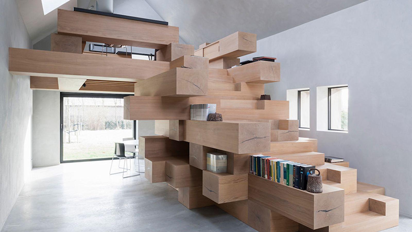 السلالم في التصميمات الداخلية الحديثة