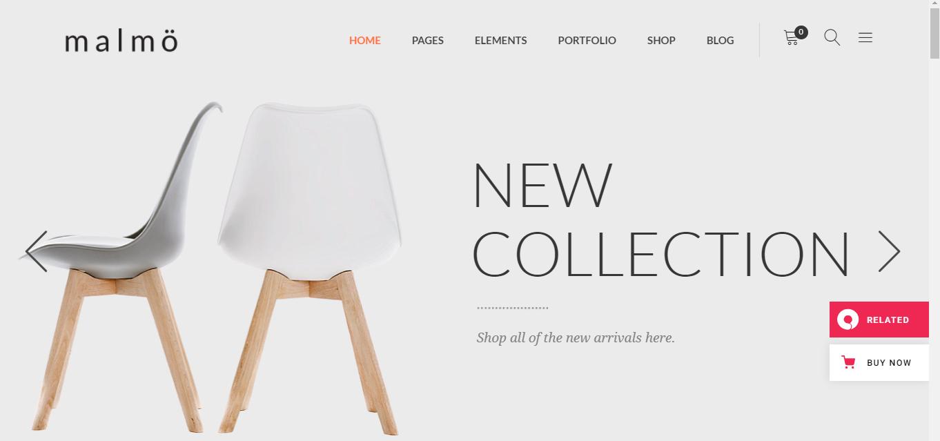 Malmo - Woocommerce furniture themes