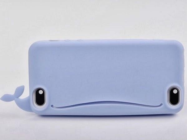 Coque iPhone 5 Baleine Bleue