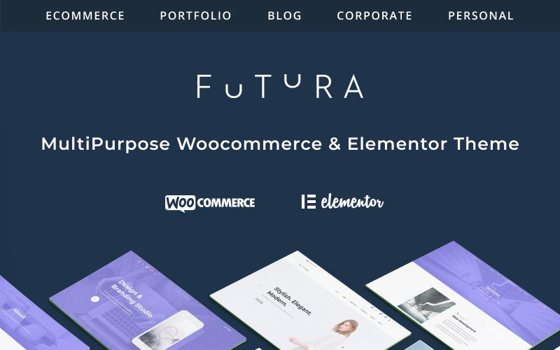 Fastest WooCommerce themes - Futura