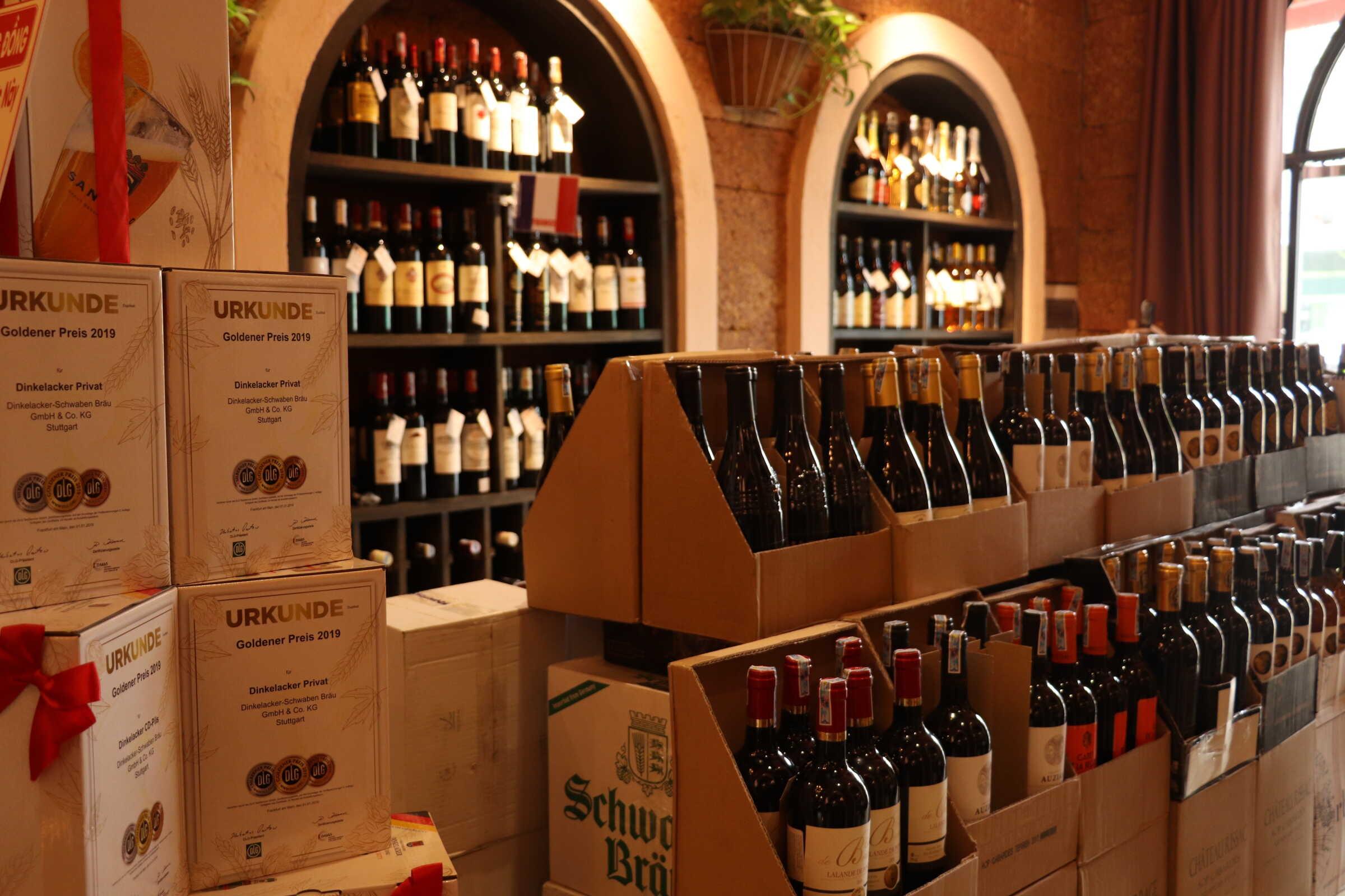Địa chỉ mua rượu Merlot chính hãng, uy tín trên toàn quốc