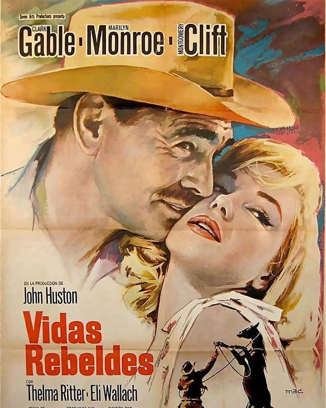 Vidas rebeldes (1961, John Huston)