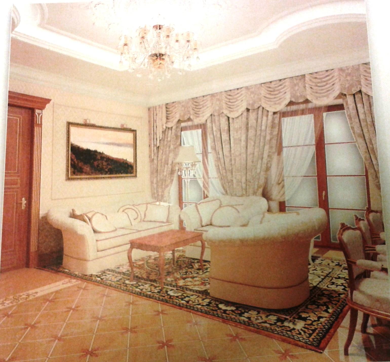 Інтер'єр будинку Полєжай. Фото з відритих джерел