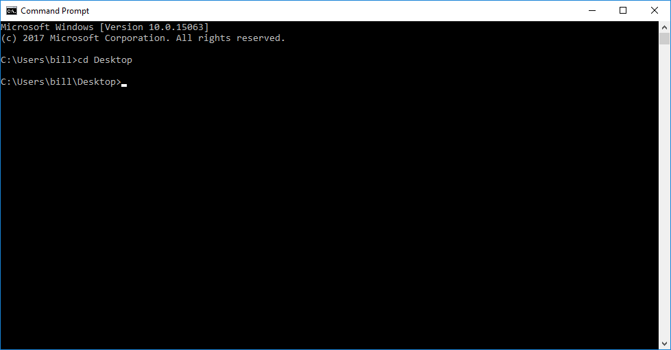 Using the Command Line to Decrypt a Message on Windows | Electronic