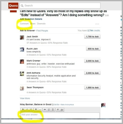 Solve Query on Quora to generate more leads