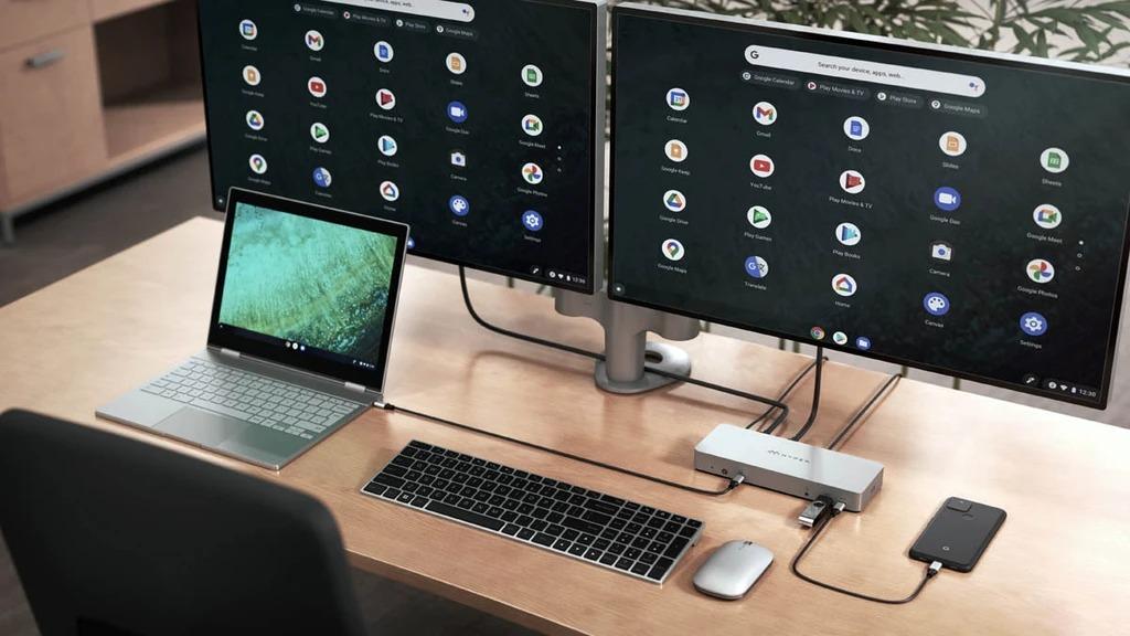 Google présente une série de stations d'accueil pour Chrome OS
