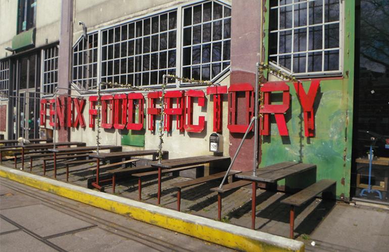 Rotterdam Fenix Food Factory parking