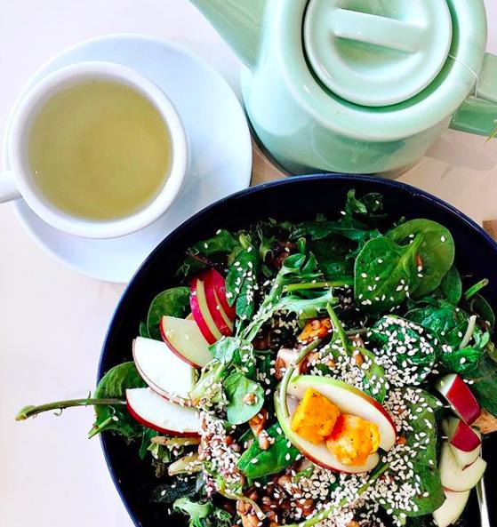 Lollo Salads - salade et thé