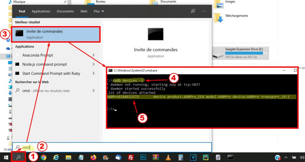 See your Android smartphone connected to your computer