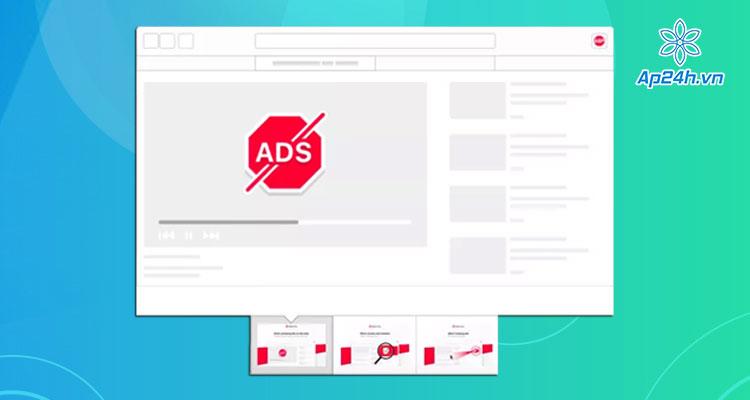 AdBlock - Trinh chan quang cao tren Chrome va Safari MacBook