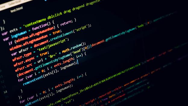 screen showing c++ code