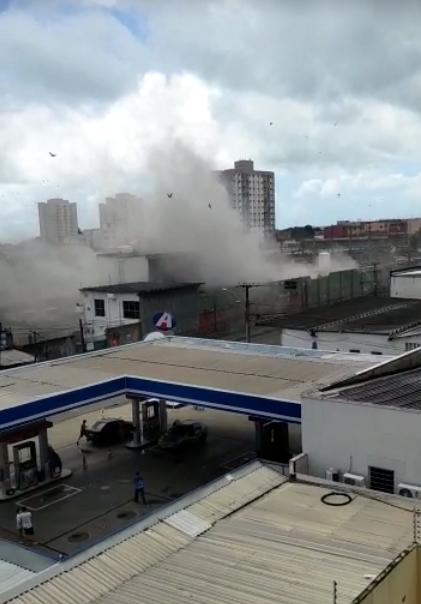 Explosão na White Martins em Fortaleza