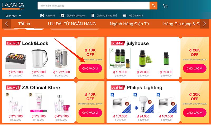 Sưu tầm mã giảm giá trực tiếp tại sản phẩm