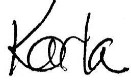 Karla Signature